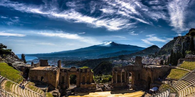 Mount Etna Sicily incentive trip