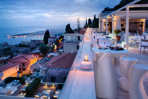NH hotel terrace sicily
